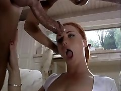 Blue witnessed redhead takes cock up booty