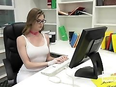 Gorgeous Office Whore Gets Demolished By Random Man Off the I