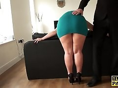 Mature sub assfucked until red raw and wrecked
