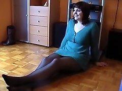 Lovely Black-haired Posing in Underwear, p. 3