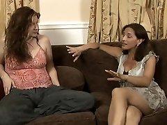 lesbian babysitter sequence 4  Melissa monet and Sinn Sage