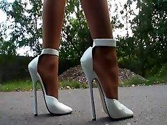 LGH - German Stockings + High Heels Outdoor