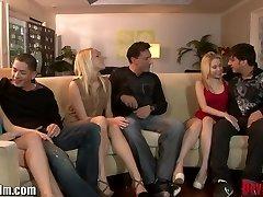 DevilsFilm חילופי זוגות Groupsex