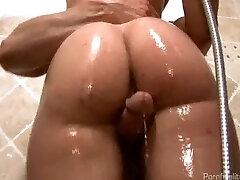 סקסית העשרה מחליק לוקח את זה בתחת