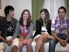Spanish teen amateur swingers