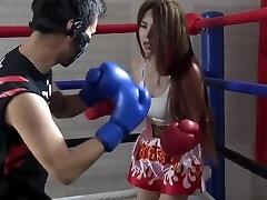 kineski brutalni mješoviti boks ryona