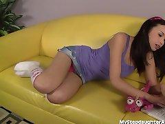 Cute Asian Teen Loves Licking Ass