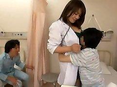 Nurse and naughty boys