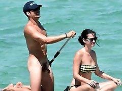 Орландо Блум обнаженный пенис в отпуск с Кэти Перри