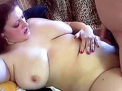 Chunky Redhead With Big Hangers Kristina Fucked