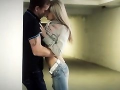 Couple in a garage