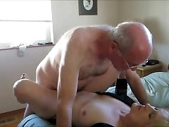 Older couple create their first sex tape.