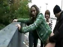 emo girls fucking on the street