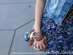 Amazing Hot Blonde Girlfriend Being Filmed By Ex Boyfriend