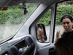 Arabada horoz yanıp sönen