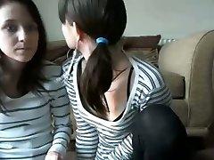 Girl Flashing on Cam