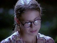 Gözlük kız becerdin