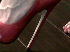 розовые пятки на стул