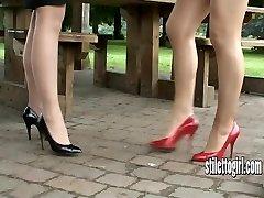 Покажите свою любовь стилет девушек и ценю их каблуки