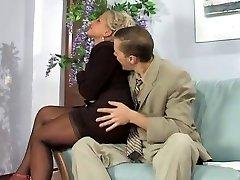 Playful secretary
