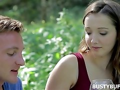 Romantic meeting with busty buffy
