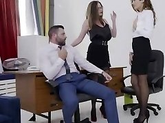 Latina hottie Penelope Cum gets pussy owned in the office