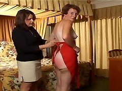 Older lady Spanked