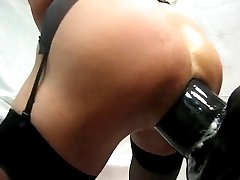 Giant dildo 360x100mm all in a hot ass