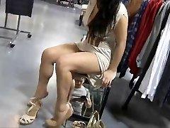Exhibitionist girl