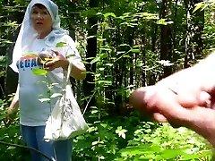 good grandma in the woods