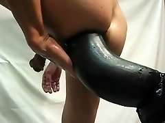 Giant faux-cock compilation