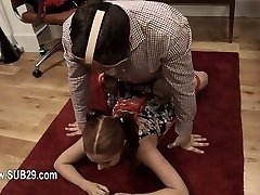 fashionable whore violently ana humped and banged BDSM sub