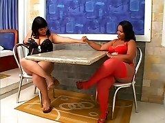 Linette & Natalia - Tombul Brezilyalılar