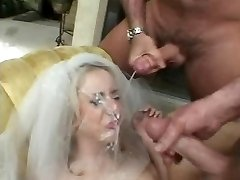 Kelly Wells, group sex bride.