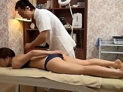 Sensitive Wifey Gets Abnormal Massage (Censored JAV)