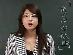 Erika Sato - Kadın Öğretmen Nakadashi Anal Saldırı