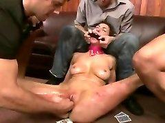 Acımasız BDSM Çift Penetratopn Fetiş