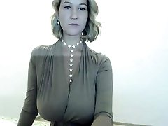Sexy Light-haired Striptease on my webcam