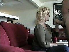 Elderly Neighbor Gives  BJ on hidden cam