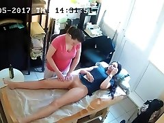 Russian Hidden Spy Cam: Anti-Cellulite Massage