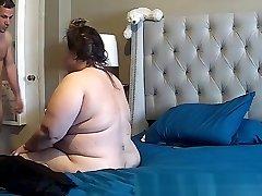 bbw upset during anal caught on IP web cam