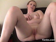 Yanks Redhead Claire's Immense Cum