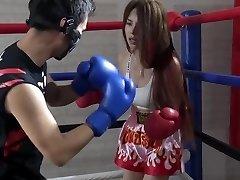 Japanese Brutal Mixed Boxing Ryona