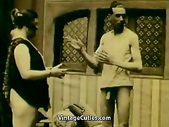 Masturbating and Persuasion to Gargle (1920s Vintage)