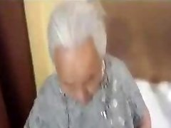 Plump korian granny being fucked