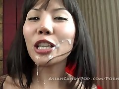 Hot Thai cutie shows her skills