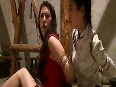 Chinese maids fastened up