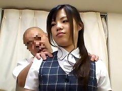Asian OL fake massage 1