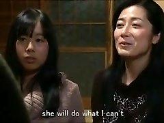 Jap mom daughter keeping abode m80 subs