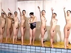 Astonishing swimming team looks great without garments